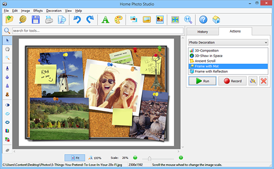 Photo Decoration Templates