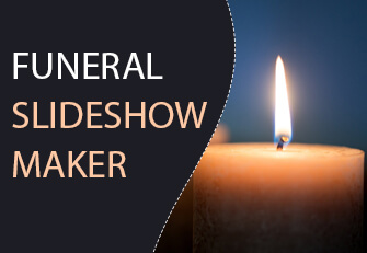 Funeral slideshow maker